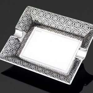 Opulent ashtray - Platinum