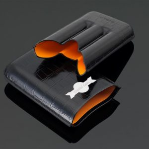 "Leather Cigar Case, Siglo ""My Cigar Case"" Leather Cigar Case"
