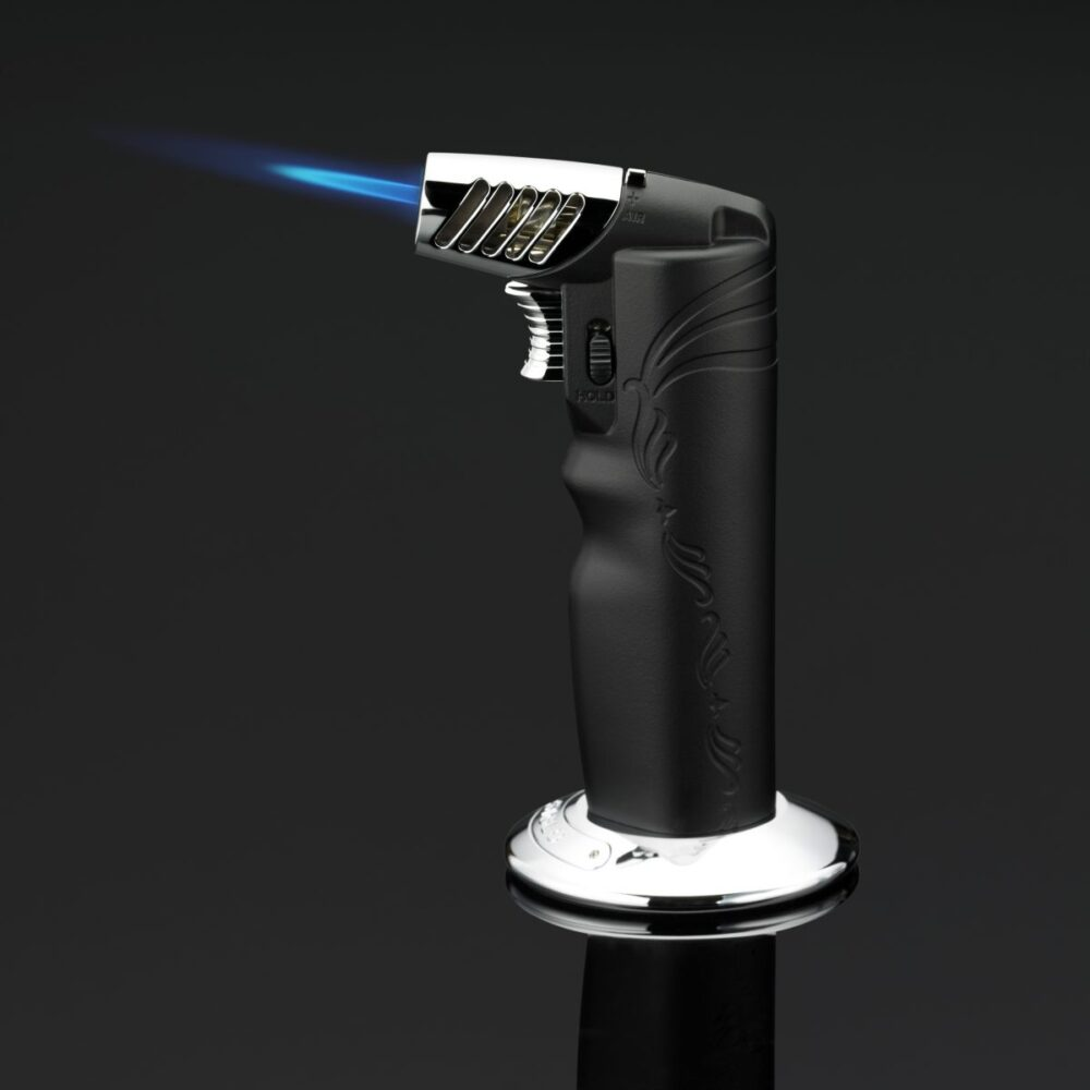 Siglo Black Table Torch