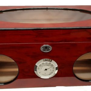 Rosewood & Glass Desktop Humidor