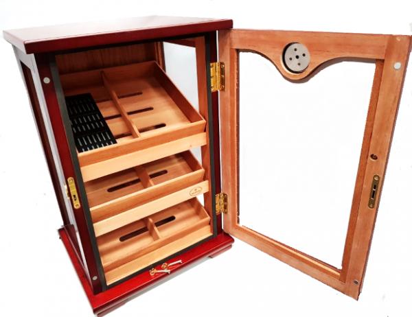 Shop Cigar Cabinet -open
