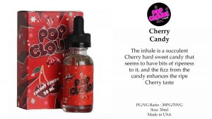 Pop Clouds Cherry Candy