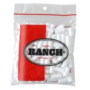 Ranch Slim Filter Tips RED