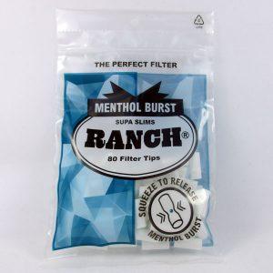 Ranch Menthol Burst Filter Tips