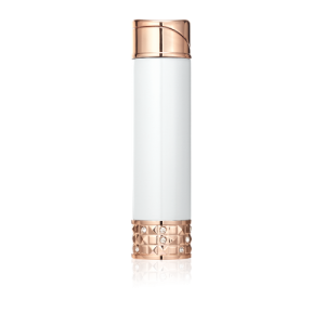 ALLURE SOFT FLAME LADIES LIGHTER White & Polished Rose Gold