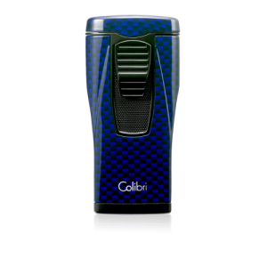 Colibri-Carbon-Fiber-Blue-Lighter