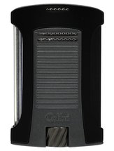 Colibri Daytone Matte Black & Charcoal Lighter