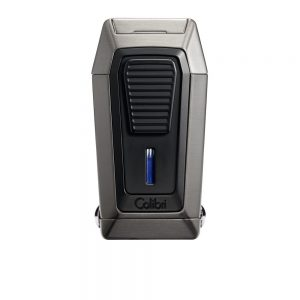 Colibri Quantum Lighter Brushed Gunmetal & Black