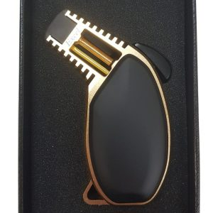Gold Single Jet Table Lighter