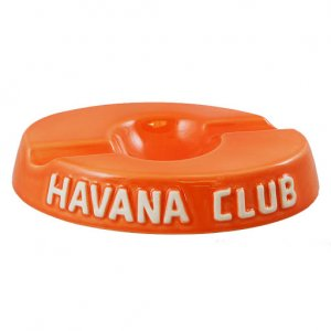 Havana Club Double Cigar Ashtray - Orange