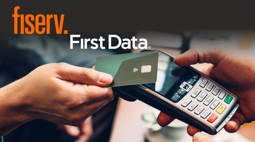 First Data is now Fiserv