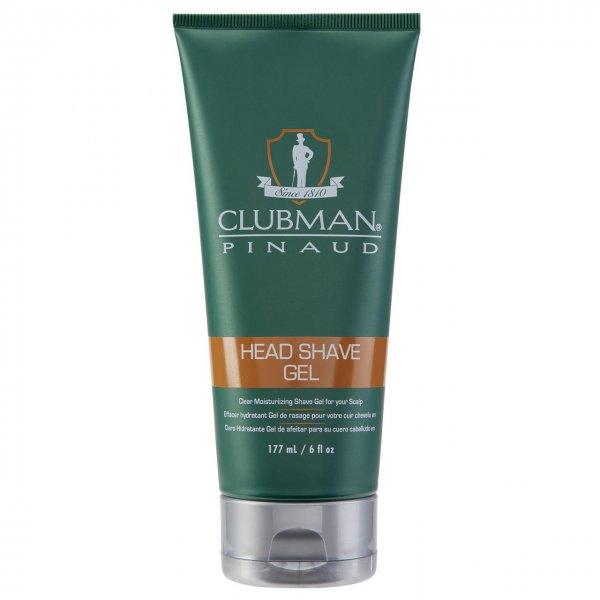 CLUBMAN HEAD & SHAVE GEL 177ML