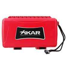 Xikar Travel Humidor Red 5ct.