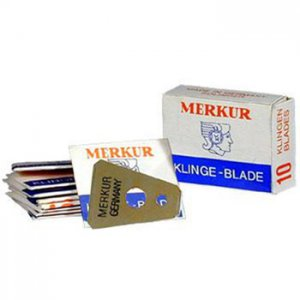 Merkur Moustache Razor Blade 10 packs