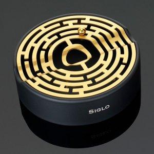 Siglo Black & Gold Maze Ashtray