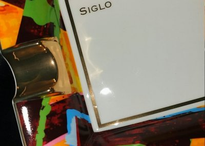 Siglo Graffiti Cigar Ashtray Close Up